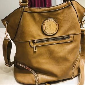Michael Kors Brown bucket purse